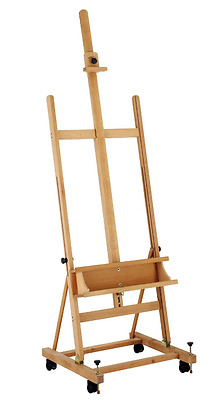 New Winsor and Newton 'Welland' Sturdy Beechwood Artists Studio Painting Easel
