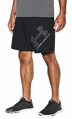 pantaloncini Under Armour Short Graphic Woven uomo nero crossfit fitness 1286060