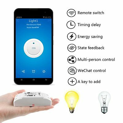 Sonoff Smart Home Remote Control Wifi Switch Automation Android APP 2200W 10A