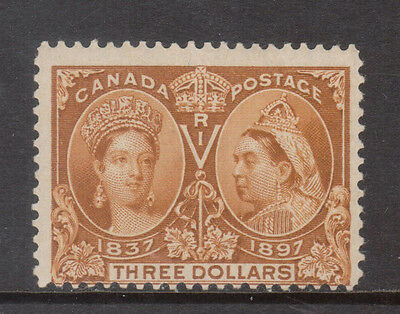 Canada #63 Mint Fine Very Lightly Hinged **With Certificate**