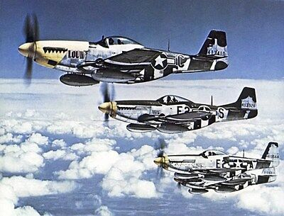 North American P-51 Mustang Plans / Drawings / Documents