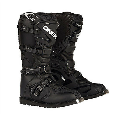Oneal 2017 Mens Rider Offroad Motocross Adult Boots Black 0324-1