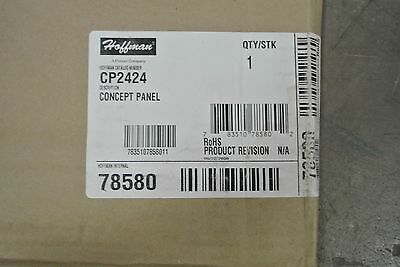 "NEW IN BOX Hoffman CP2020 20X20/"" Concept Panel Back Plate"