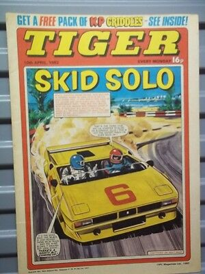 Tiger 10Th April 1982  'skid Solo And More...'