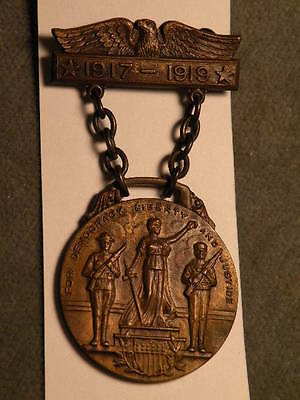Fort Plain, NY City / Town Medal -WWI