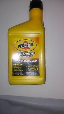 Pennzoil Premium Outboard & Multi-Purpose 2-Cycle 16 Oz. Pack of 2