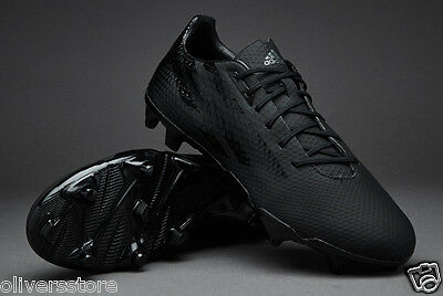adidas Mens Crazyquick Malice SG Rugby Boots Core Black