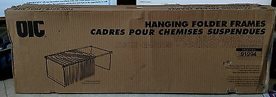 2 Sets Officemate OIC 91994 Legal Size Hanging File Frames, Steel ~ Free S/H