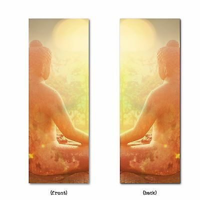 3 x Luxury Double-Sided Buddha Bookmarks (birthday gift/present) Fast & Free P&P
