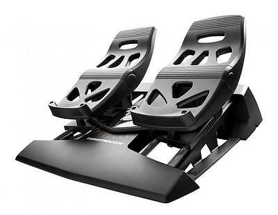 Thrustmaster Black Flight Rudder Pedals TFRP PC/PS4 NIP 2960764 Game Controllers