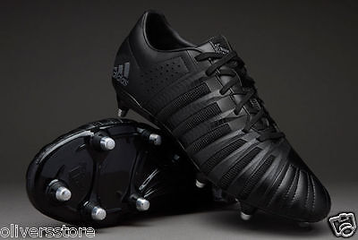 adidas Mens FF80 Pro 2.0 XTRX SG Rugby Boots Core Black