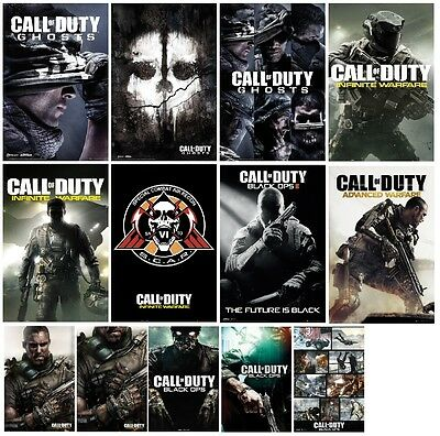 CALL OF DUTY Posters - Ghosts SCAR INFINITE WARFARE - 61x91.5cm Free UK Postage