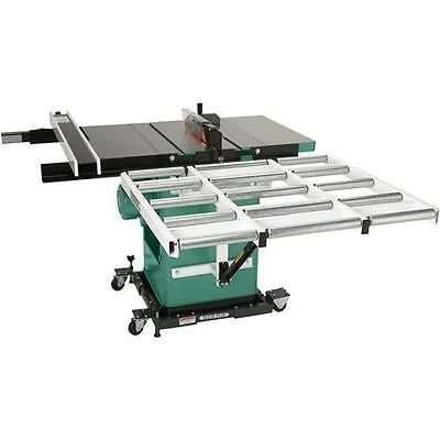 "G1317 Grizzly 37"" Outfeed Roller System For Cabinet Table Saws"