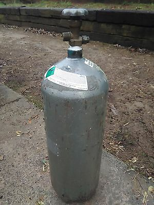 Used steel 20lb co2 tank non siphon (empty)