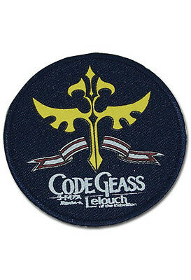 """Code Geass Knights Symbol Patch 3/"""" x 2 1//2/"""" Licensed by GE Animation 4252 New"""