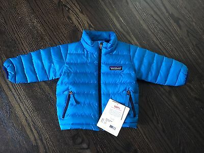 Patagonia Baby Down Sweater, Electron Blue, 3-6 Months