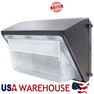 70W 100W 125W LED Wall Pack Outdoor Light IP65 Waterproof Security Fixture Lamp