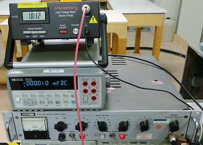 Fluke 412B High Voltage power Supply