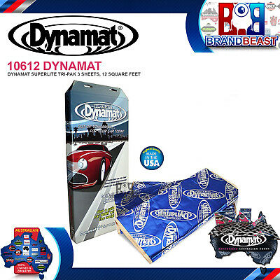 Dynamat Superlite Tri-pack Sound Dampening Deadener Super Insulation 10612