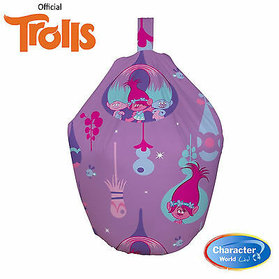Official Trolls Glow Filled Bean Bag Official Merchandise BNWT free P&P