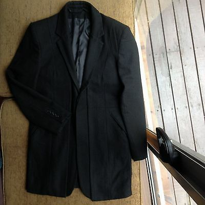 Dsquared 2 Wool Mix Mens Coat Size 52 Made In Italy  Euc