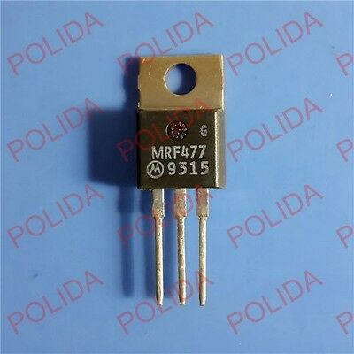 10PCS RF/VHF/UHF Transistor MOTOROLA TO-220 MRF477 100% Genuine and New