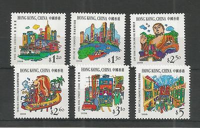 Hong Kong 1999 Joint Issue With Singapore Sg,961-966 U/m Nh Lot 3101A