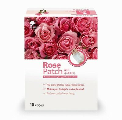 10x Detox Foot Pads Rose Sap Patch The ESSENCE of NATURE + 40% More Event
