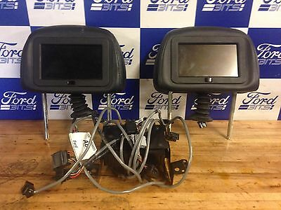 FORD MONDEO MK3 FRONT 2 x SEAT HEADREST WITH CONTROL UNIT