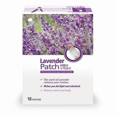 10x Detox Foot Pads Lavender Sap Patch The ESSENCE of NATURE + 40% More Event
