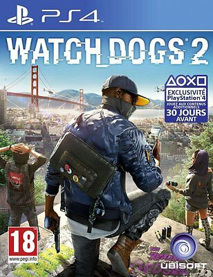 Watch Dogs 2 - PS4 - Neuf Sous Blister