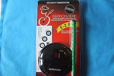 Grover Ukulele Humidifier with Soundhole Cover, MPN GP720