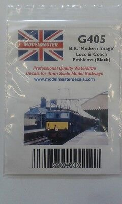 18 Pairs of black Double Arrow emblems for Locos & Coaches Modelmaster MMG405 L1
