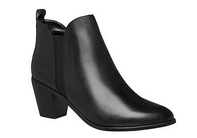 Hush Puppies Calista Womens Leather Ankle Boots Comfortable/Fashion/Casual