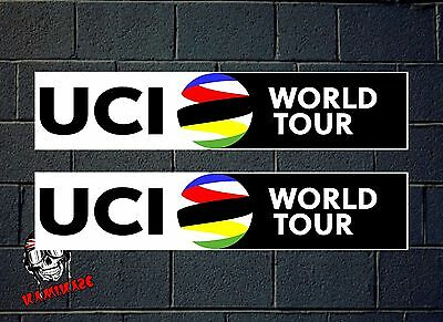 Pegatina Sticker Autocollant Adesivi Aufkleber Decal Adesivo Uci World Tour