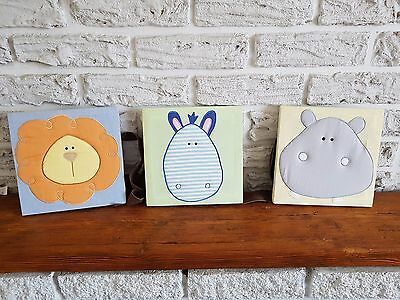 JoJo Maman Bebe Maternity Nursing Room Pictures..set of 3 ..
