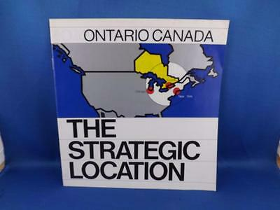The Strategic Location Information Book Ontario Canada Ministry Industry Trade