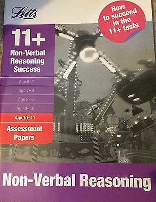 Non-Verbal Reasoning Age 10-11: Assessment Papers (Letts 11+ Success) New