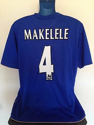Chelsea FC MAKELELE 05/06 Home Football Shirt (XL) Soccer Jersey