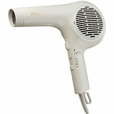 Negative Ion Hair Dryer Nb3000 White Nobby Made in Japan AC100V New  Tracking