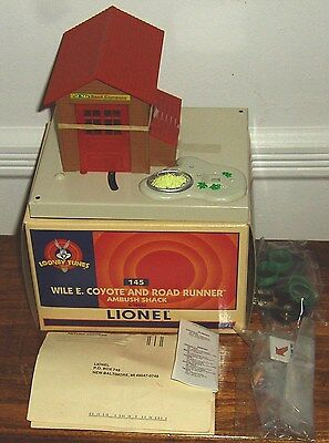 Lionel Looney Tunes Wile E. Coyote And Road Runner Ambush Shack 12955