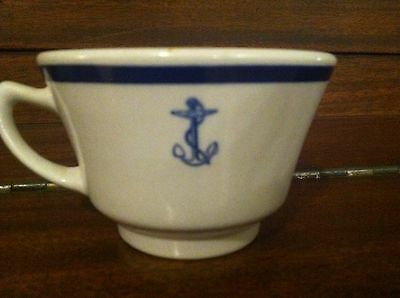 Vintage Shenango China Navy Anchor Coffee Cup