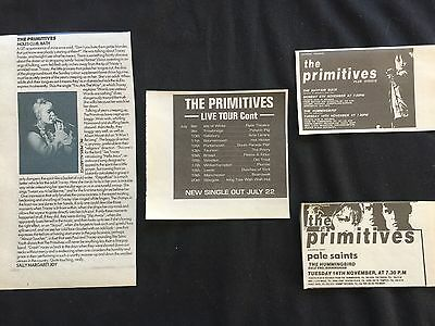 The Primitives # Original Clippings / Cuttings / Article Pack #