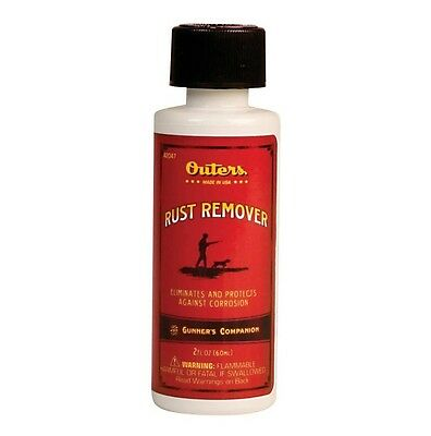 New! Authentic Outers Rust Remover 2 Oz. with Protection Against Corrosion 42047