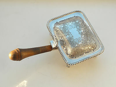 Mappin & Webb Silver Plated Cigarette Box In Form Of A Chaffing Dish