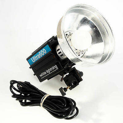 White Lightning Paul C Buff Ultra 600 Studio Strobe Monolight As-Is Needs Repair