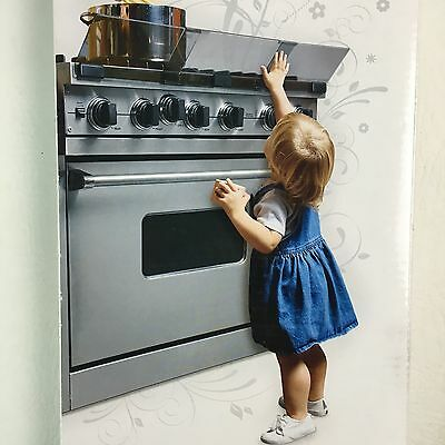 NEW Prince Lionheart Adjustable Stove Guard Baby Toddler Safety