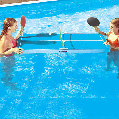 "Swimline Floating Ping Pong 54"" x 27"" Table Tennis Swimming Pool Float Game"