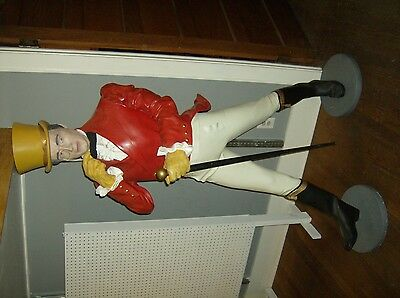 Johnnie Walker Life Size Resin Statue Vintage Store Display Advertising