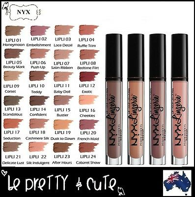 NYX LIP LINGERIE LIQUID LIPSTICK weightless sultry with a lush, matte finish